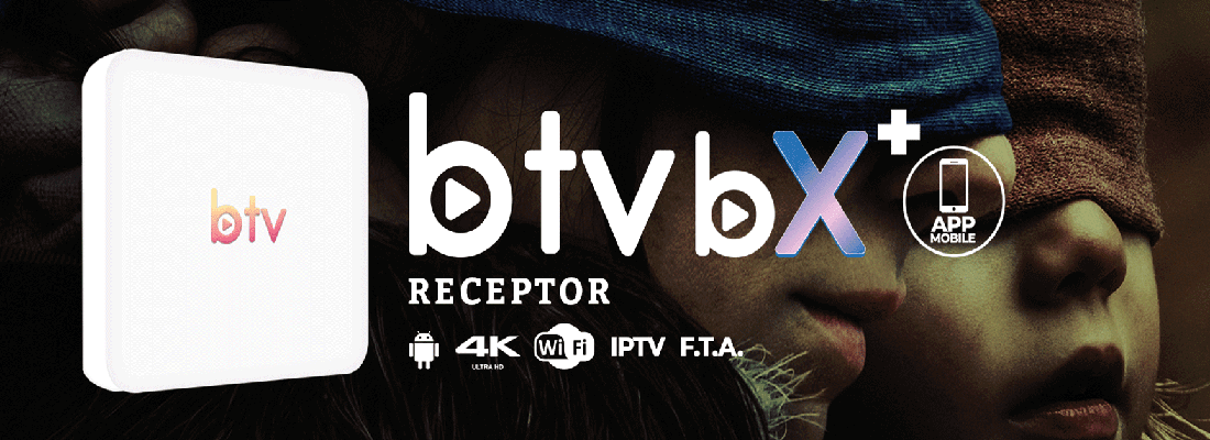 BTV X B10 4K 16GB Android - Rainhadoaz