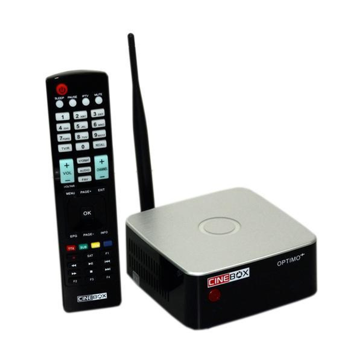 Receptor Cinebox Optimo + Plus Wi-Fi AC