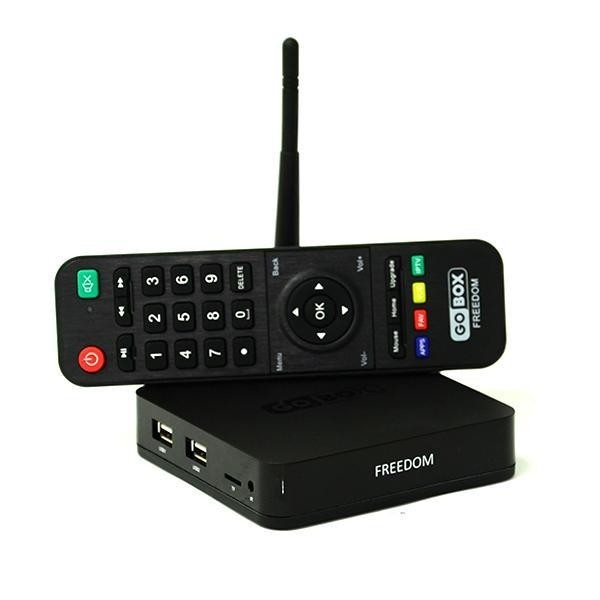 Receptor GoBox Freedom 4K IPTV VOD NETLINK ACM