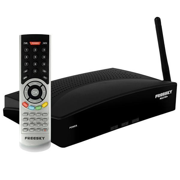 Receptor Freesky MAX HD+ Full HD com Wi-Fi/ACM/HDMI
