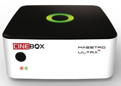 Receptor Cinebox Maestro Ultra +