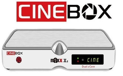 Receptor Cinebox Maxx X2 Dual 2 Core IPTV