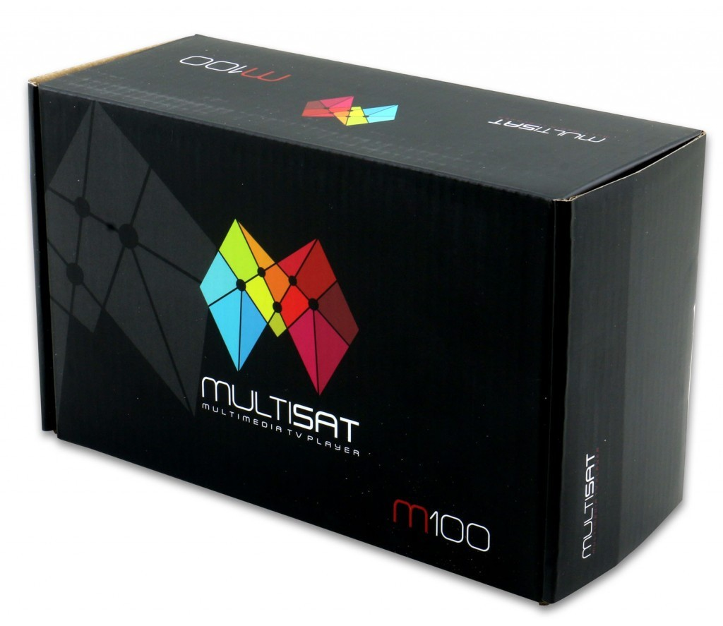 Receptor MULTISAT M100 Full HD CS Wi-Fi/IPTV/HDMI