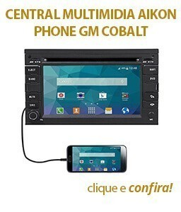 Central Multimidia Aikon Phone GM COBALT