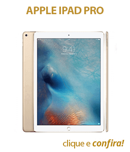 Apple iPad Pro 128GB WiFi Tela Retina de 12.9 Dourado