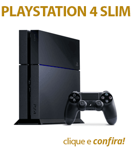 Playstation 4 Slim Sony 500gb Ps4 Bivolt