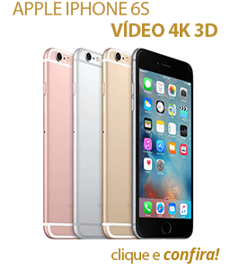 Apple iPhone 6s Vídeo 4K 3D Touch Tela 4.7