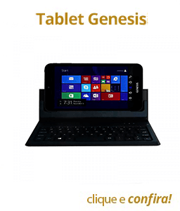 Tablet Genesis 16GB W8 Wi-Fi HDMI +Teclado Bluetooth